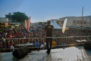 Concert à Douala pour l' album Cardio