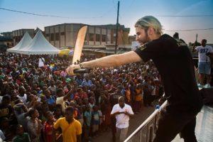Haïs à Douala pour l' album Cardio