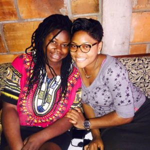 hommage de Sandrine Nnanga à Merveille Tsang'mbe dans mulema