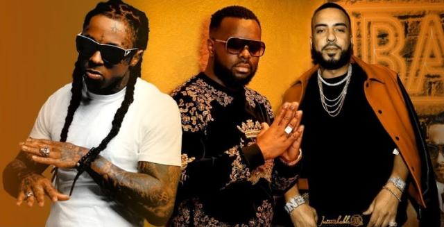 Maitre Gims avec Lil Wayne et French Montana corazon