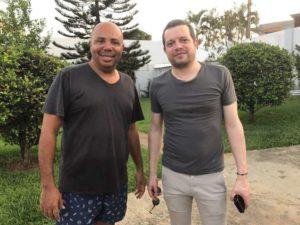 José Da Silva et Romain Bilharz batobesse