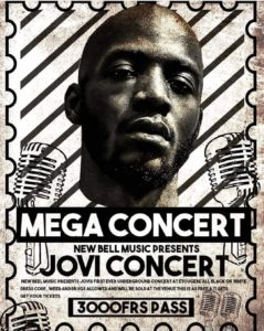 Jovi Concert cameroun cameroon depanner batobesse