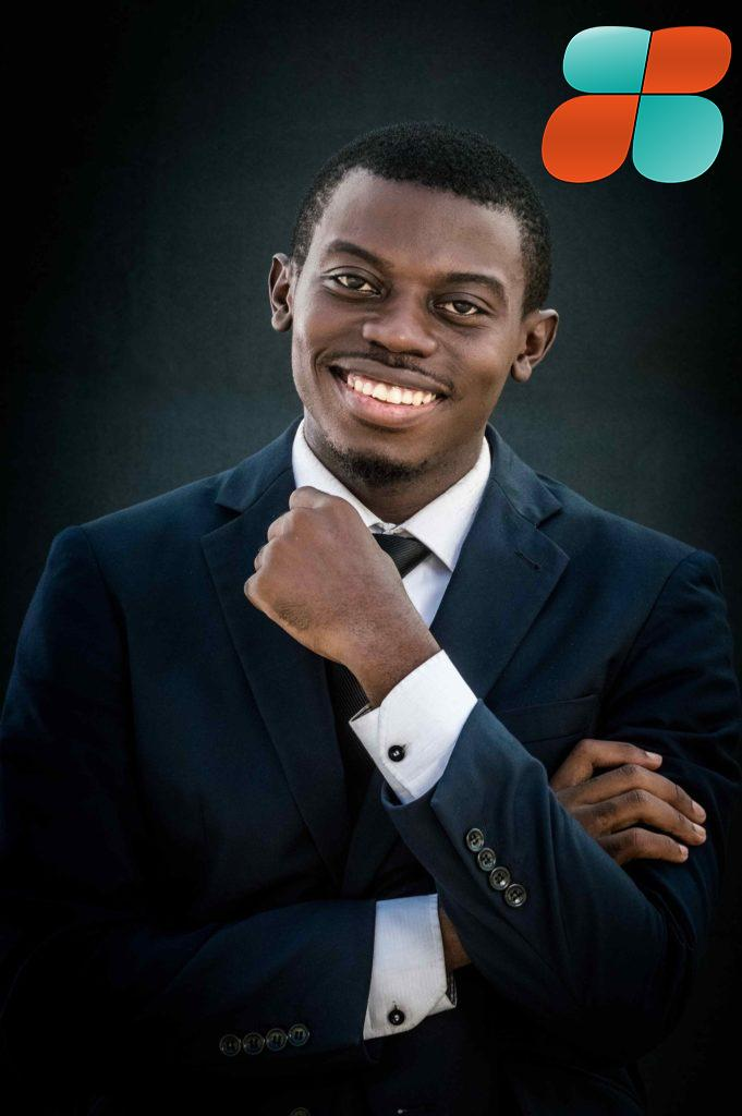William Elong - Drone Africa entrepreneur-gate batobesse