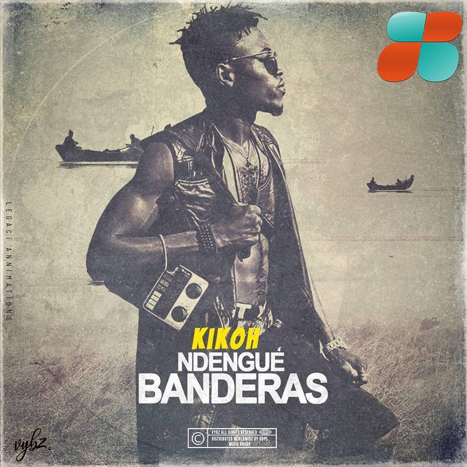 kikoh Cover officiel de l'EP Ndengue Banderas single Kikoh feat Andy Jemea dans désolé