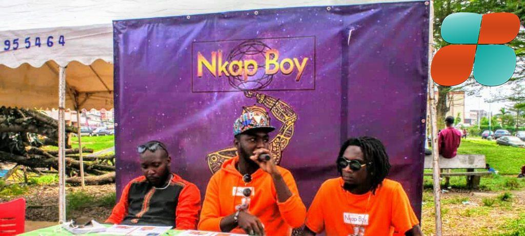 la Conférence de presse et signature de Rok'l chez Nkap Boy - parazit music célibataire