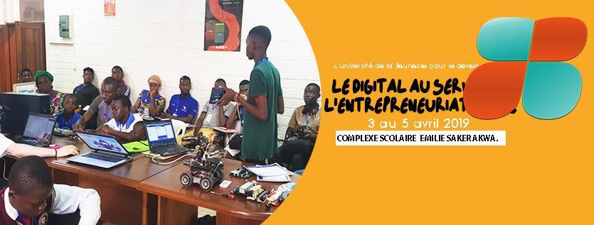 Le Digital au service de l'entrepreneuriat jeune