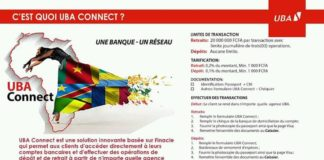 Carte VISA prépayée UBA Cameroun