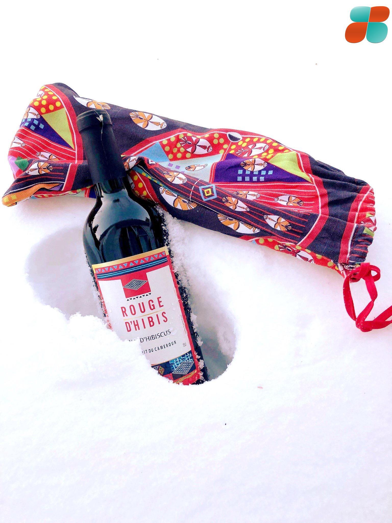 vin camerounais rouge d'hibis